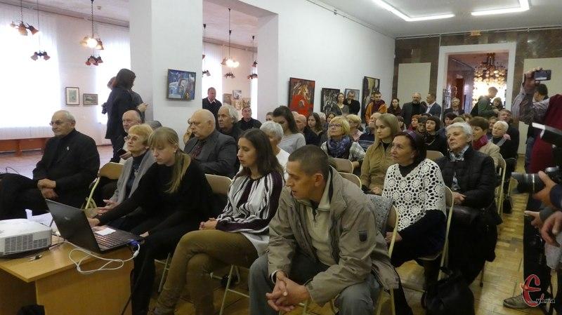 Присутні могли знову побачити і почути митця