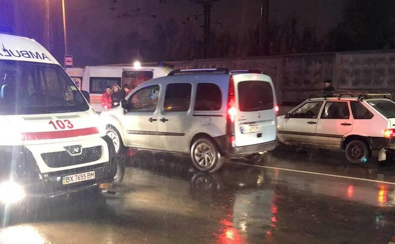 Аварія сталася на вулиці Толстого