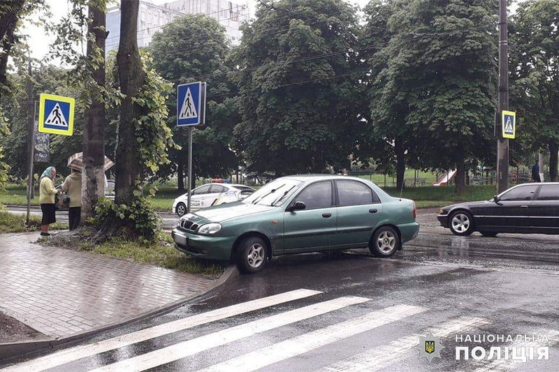 Аварія сталася на вулиці Тернопільській