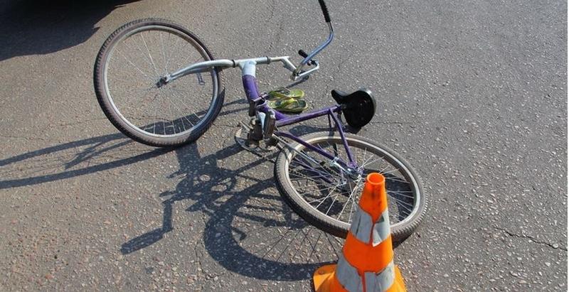 Велосипедист травмувався