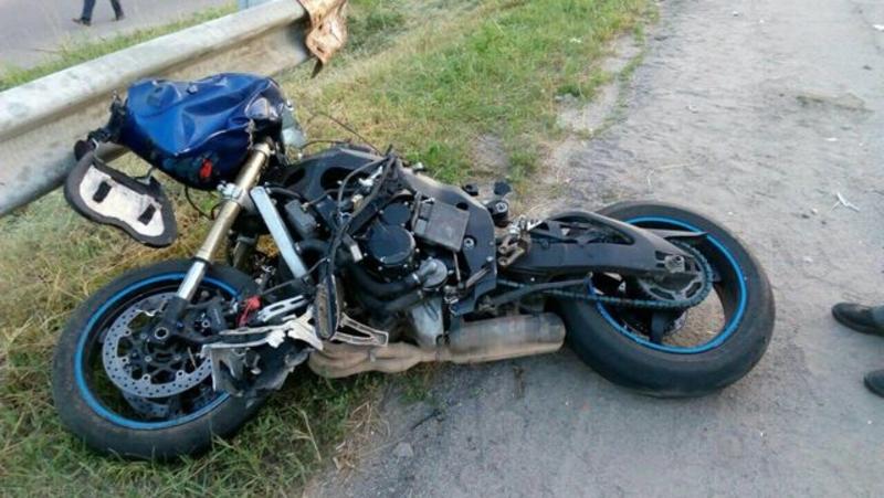 Мотоциклісту надали допомогу на місці події