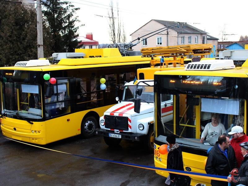 Два тролейбуси обійшлися Хмельницькому в 8,3 мільйони гривень
