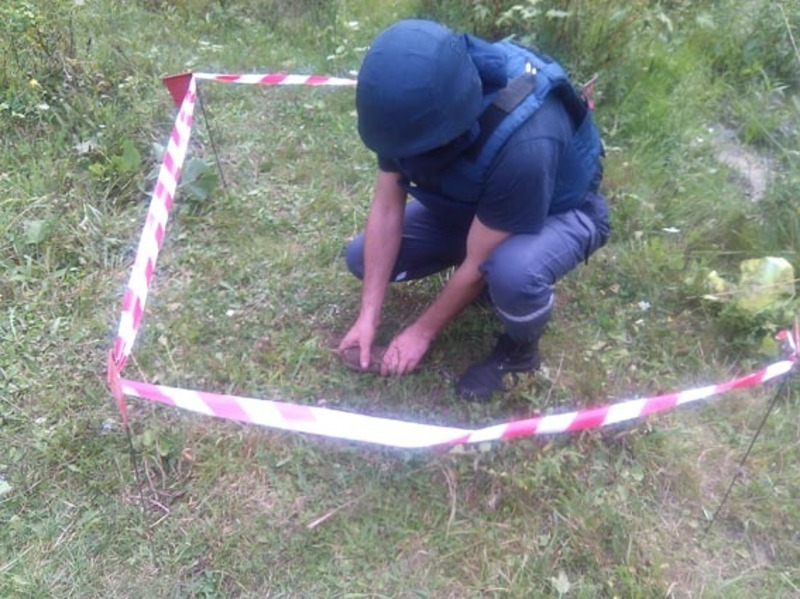 Рятувальники застерігають: не чіпайте небезпечних знахідок