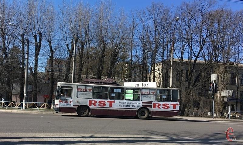 Деякі тролейбуси частково змінили маршрути