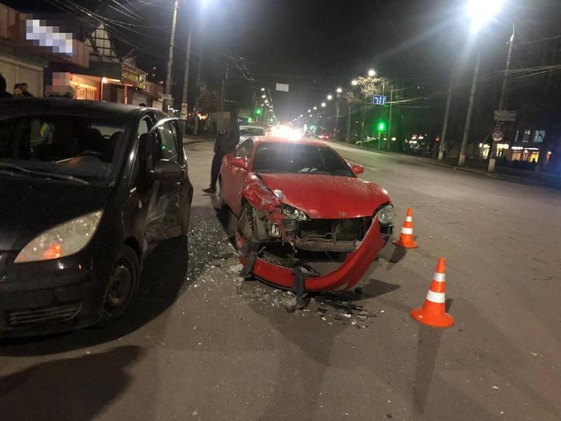 Аварія сталася близько 21:15