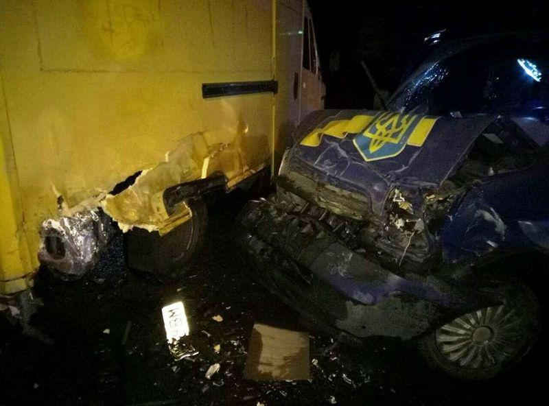 Водій автомобіля «Мерседес бенс» на постраждав