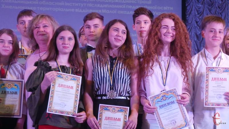 Школярі з гідністю представили наш край у наукових змаганнях