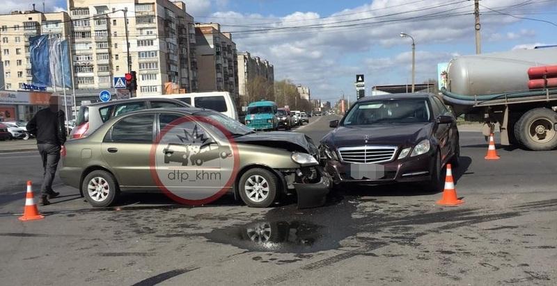 Аварія сталася на перехресті вулиць Трудова – Прибузька
