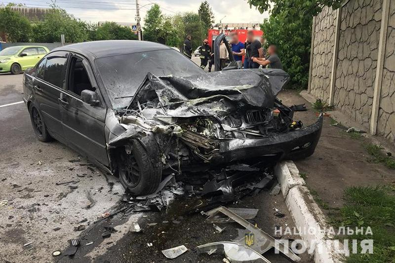 ДТП сталася поблизу зупинки громадського транспорту «Хмельничанка»
