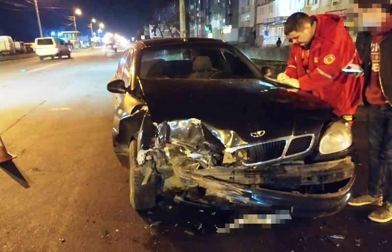 Аварія сталася на вулиці Прибузькій
