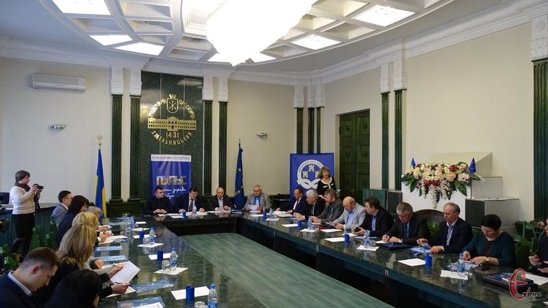 В обласному центрі відбулося засідання Хмельницького регіонального відділення асоціації міст України