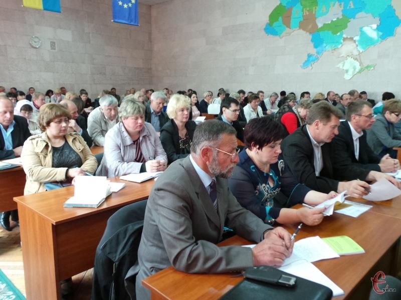Керівники територіальних громад обговорювали перспективи об'єднання