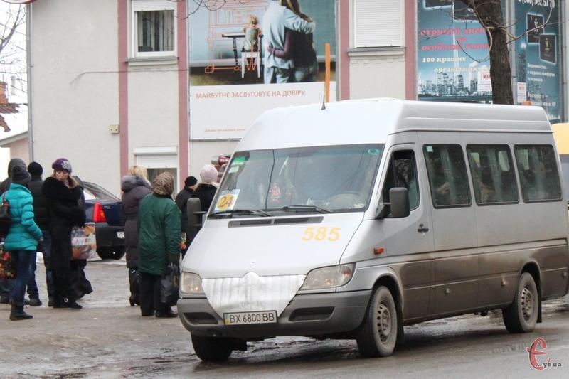Після громадського обговорення виконком міської ради може підвищитьи ціну на проїзд у хмельницьких маршрутках з 3 гривень до 3,5 гривні