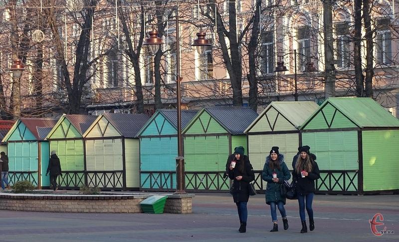 У місті побільшає зон для культурного відпочинку