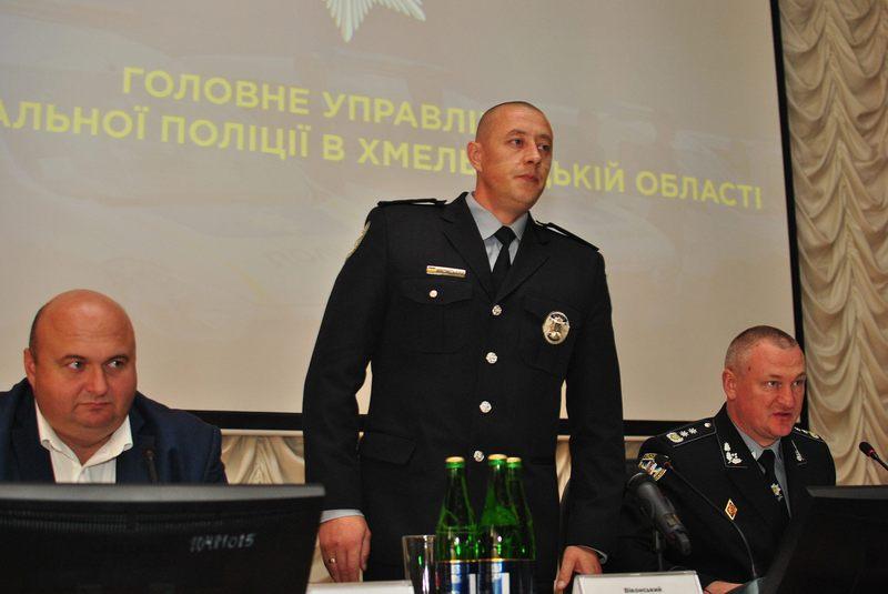 У Хмельницькому призначили нового керівника Нацполіції області