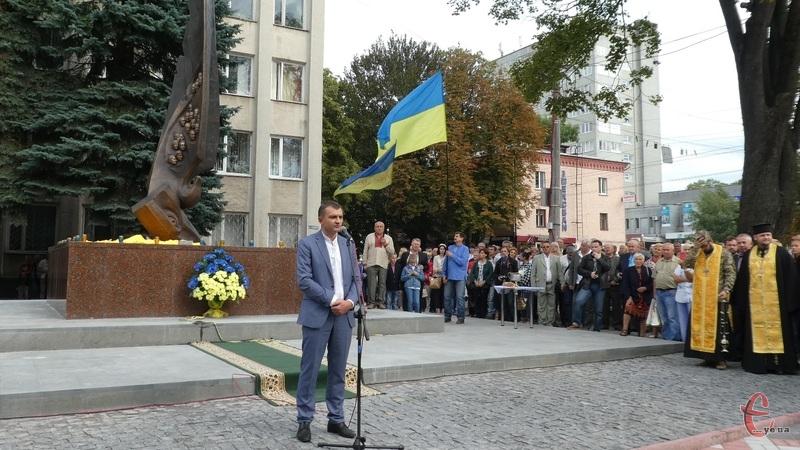 Завдяки тим, хто загинув, ми сьогодні святкуємо Незалежність, - Симчишин.