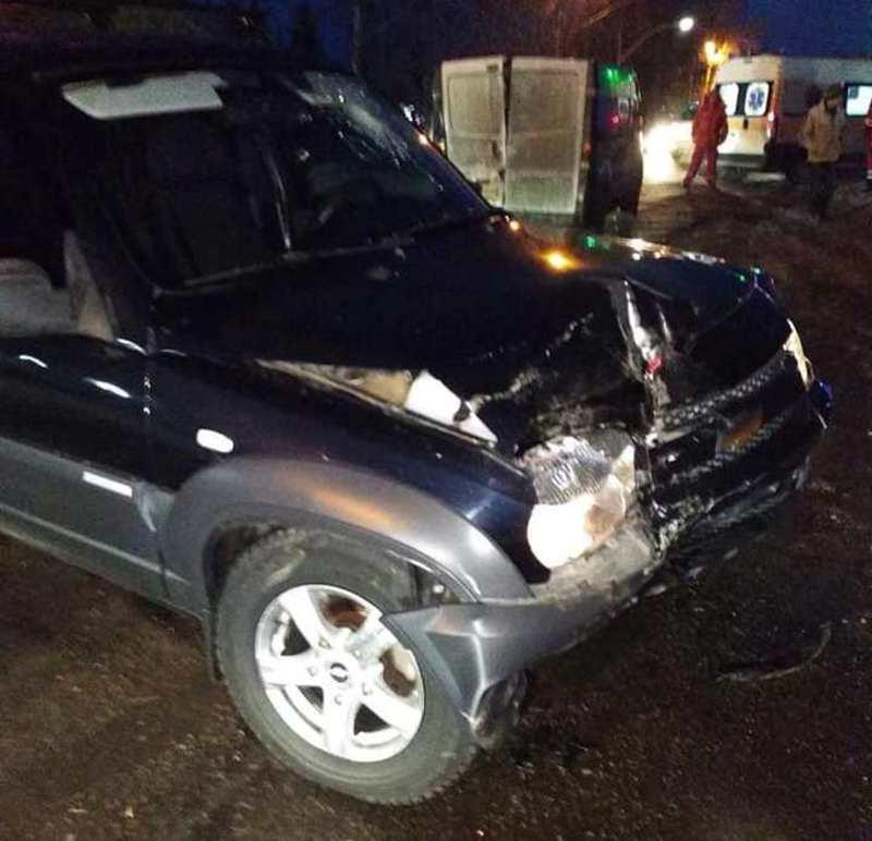 Аварія сталася неподалік костелу, на вулиці Західно-Окружна