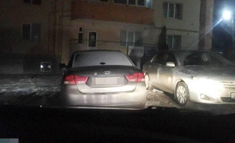 Патрульні зупинили п'яного водія на вулиці Соборній