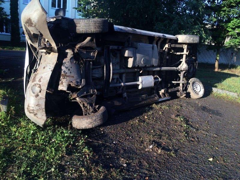 Аварія сталася під ранок в обласному центрі