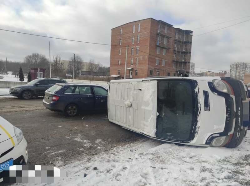 Аварія відбулася сьогодні вдень