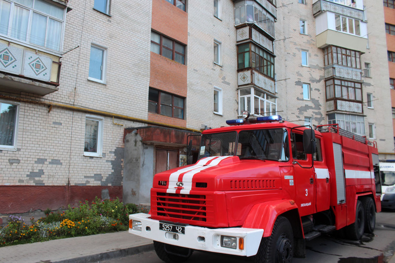 Пожежа виникла у квартирі на 5 поверсі багатоквартирного 10-поверхового житлового будинку
