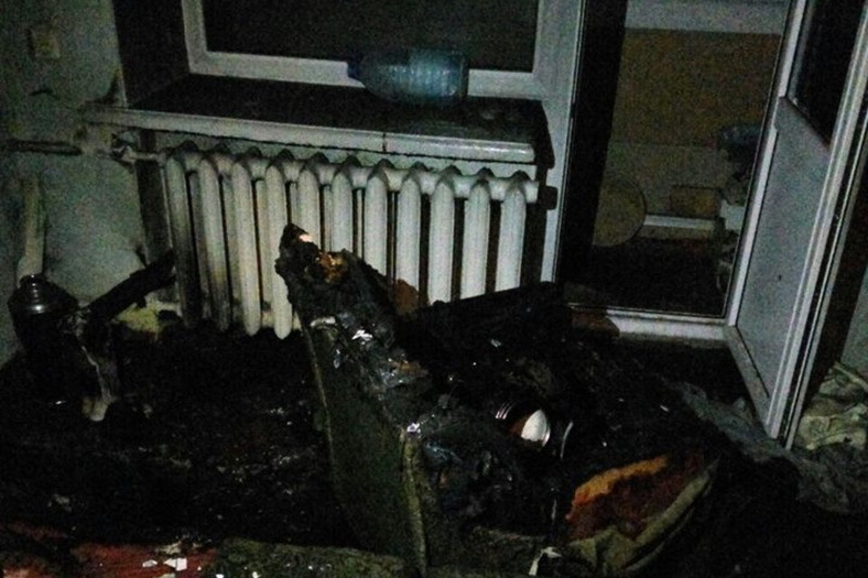 Вогонь пошщкодив домашні речі