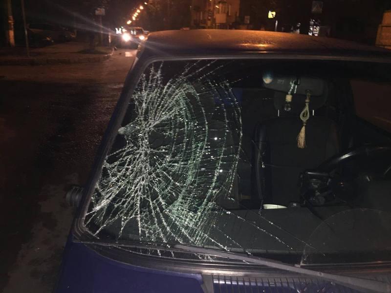 Аварія сталася на вулиці Чорновола