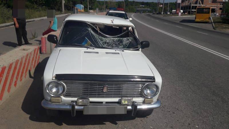 Аварія сталася на Старокостянтинівському шосе