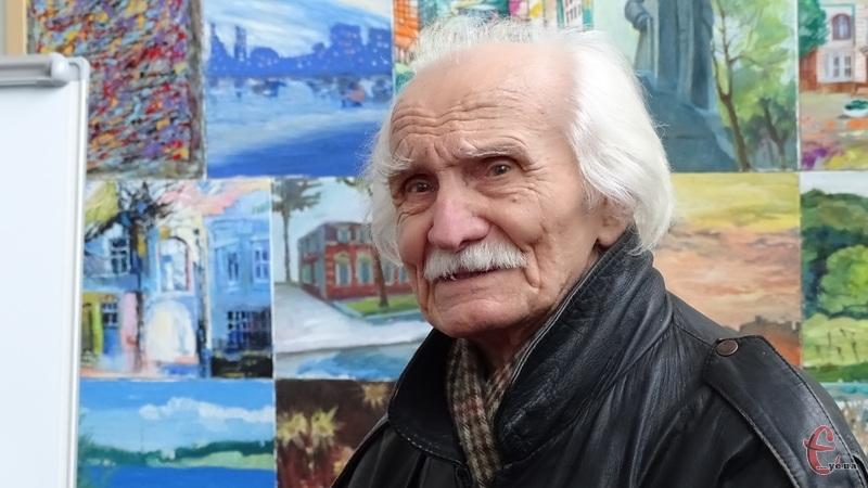 Найбільше картин Михайла Андрійчука присвячених долі України
