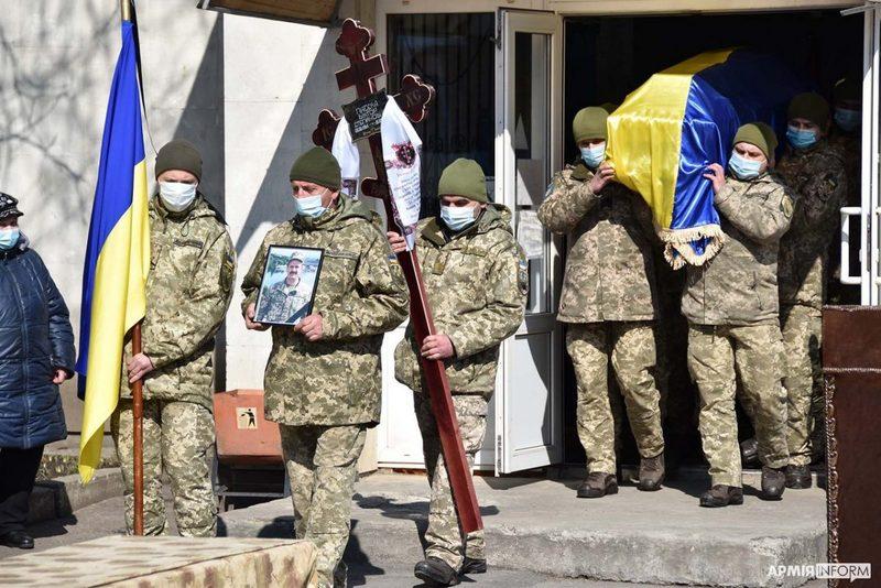 Прощалися з Віктором Пасєкою в Будинку ритуальних подій на вулиці Толстого