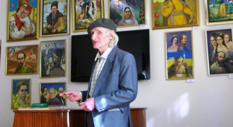 Володимир Корнєв намалював більше 50 картин Шевченка
