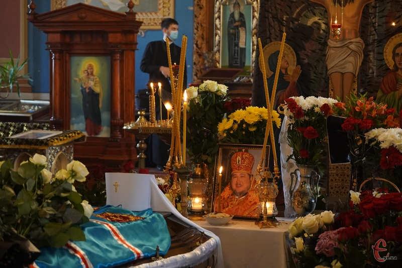 Прощання з владикою проходило у кафедральному соборі Апостола Андрія Первозванного