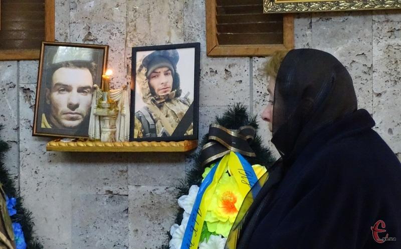Прощання з військовослужбовцем відбулося у приміщення Хмельницької міської ритуальної служби