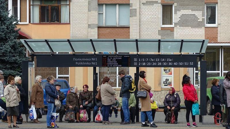 Зупинки обладнали на вулиці Подільській