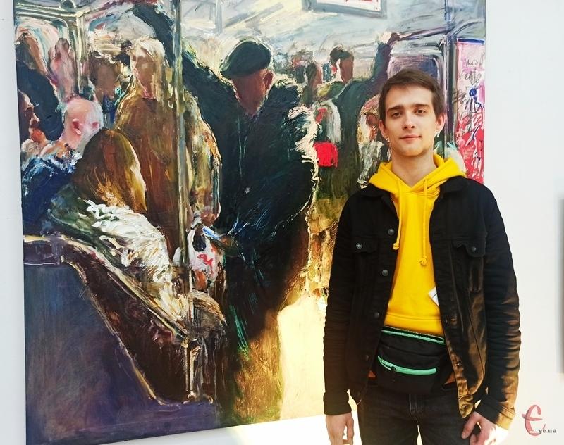 Підземка виявилась простором для розгортання вигадливих сюжетів творів Євгена Клименка