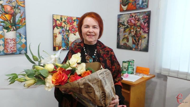Неллі Павлова відома не лише в рідному Хмельницькому, а й в інщих містах України та за кордоном