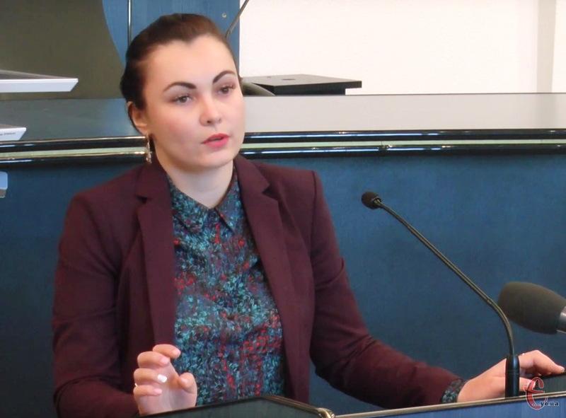 Оксана Новодон розпочне працювати на посаді начальника управління економіки Хмельницької міської ради з 2 березня 2016 року