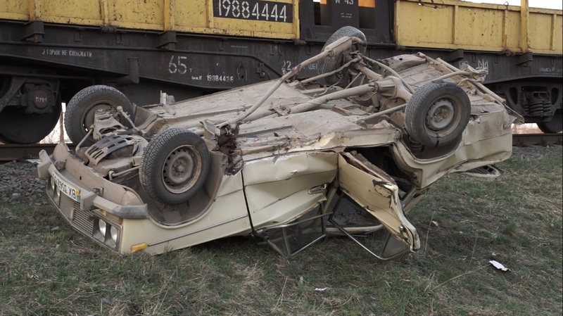 Водій отримав незначні тілесні ушкодження