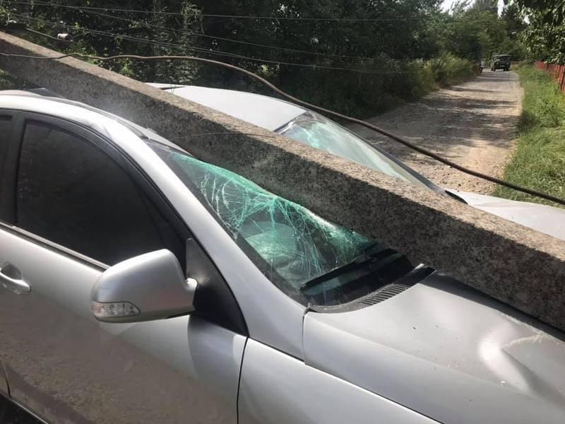 Аварія сталася вчора, 9 липня, у селі Стуфчинці