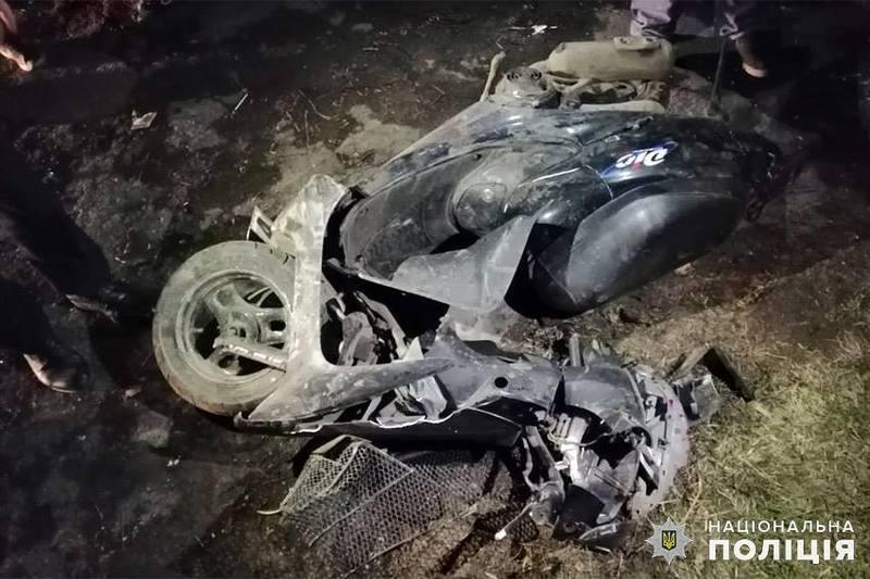 Аварія сталася в селі Рідкодуби Хмельницького району
