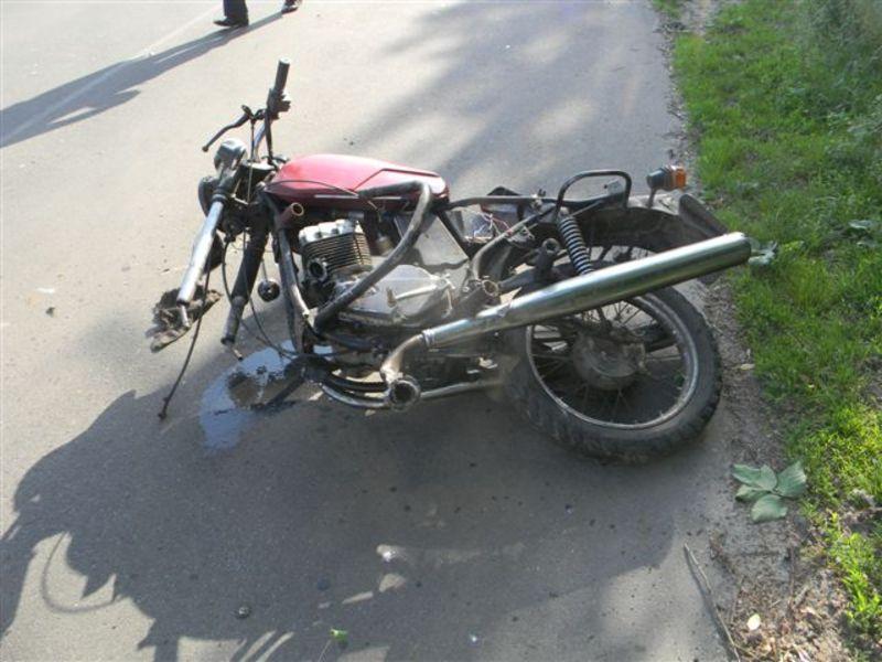 Мотоцикліст загинув на місці