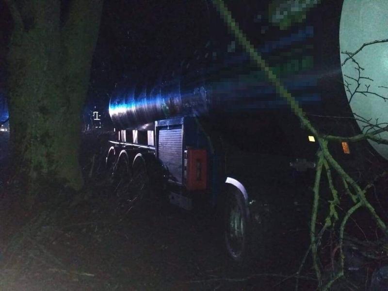 Аварія сталася поблизу села Кудринці Хмельницького району