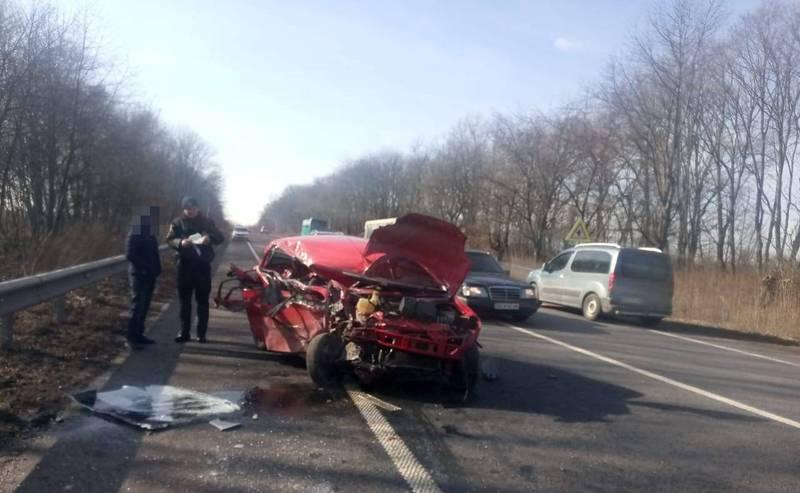 Аварія сталася поблизу села Данюків Хмельницького району