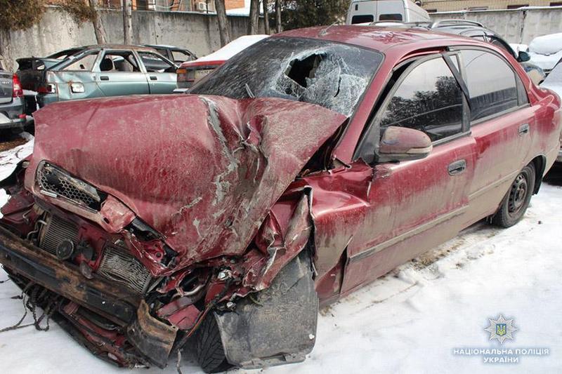 ДТП сталося  на автодорозі «Стрий-Кропивницький-Знам'янка»