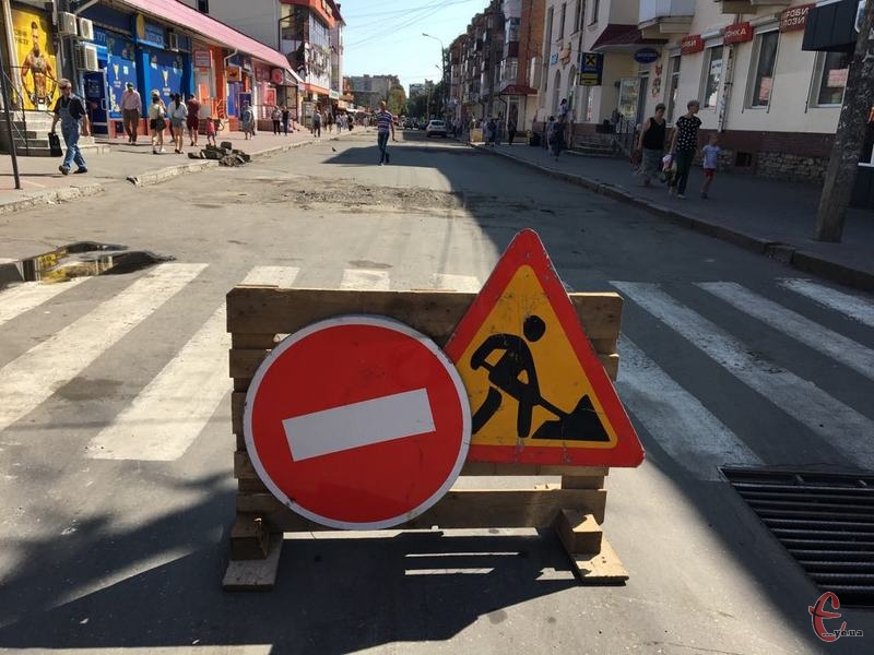 Ремонт дороги на Вайсера планують завершити не 14 вересня, а  19 вересня