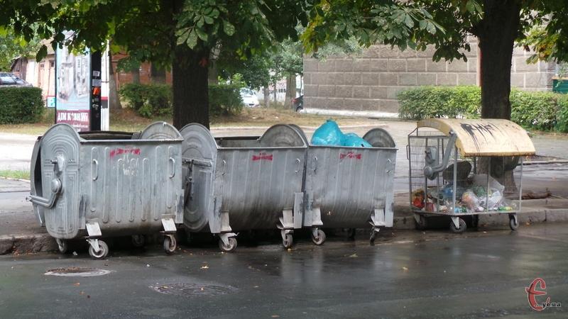У місті намагаються запровадити роздільний збір сміття