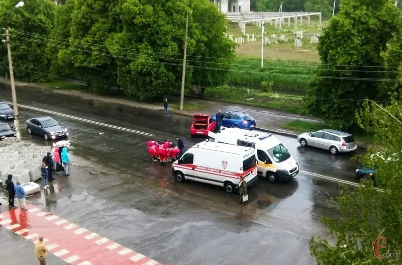 ДТП сталася на вулиці Прибузькій