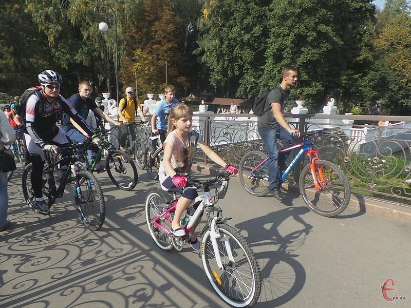 У пробігу взяло участь багато дітей