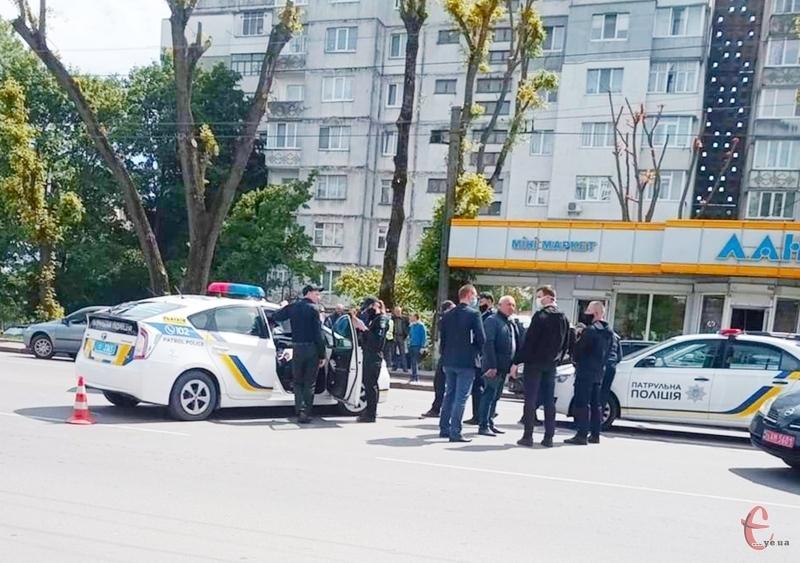 Аварія сталася на проспекті Миру