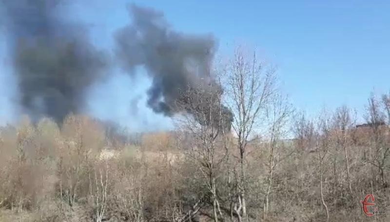 Рятувальники загасили пожежу